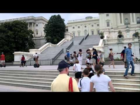 Русские туристы в Америке: Вашингтон, Капитолий