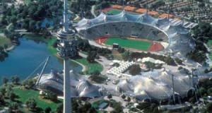 Олимпийский комплекс в Мюнхене