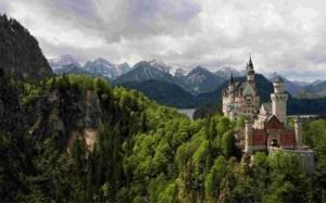 Баварский лес Германии