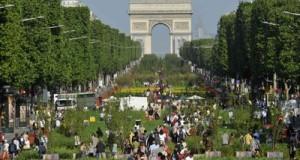 Елисейские поля в Париже