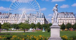 Сад Тюильри — экзотика, умиротворённость и история в одном месте