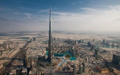 Башня Бурдж-Халифа - чудо архитектуры Дубай