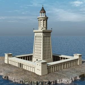 Чудеса света – Александрийский маяк