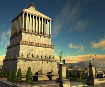 Галикарнасский мавзолей, как одно из семи чудес Древнего Света