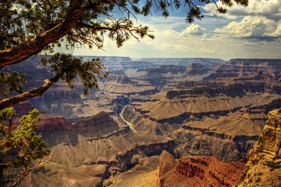 Гордость США - Национальный парк Большой Каньон