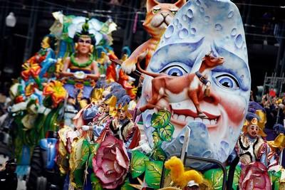 Карнавал Марди-Гра в Новом Орлеане