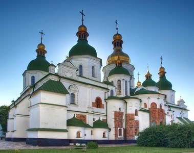 Софиевский Собор в Киеве - прекрасная архитектура