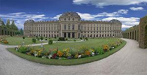 Резиденция архиепископа в Вюрцбурге